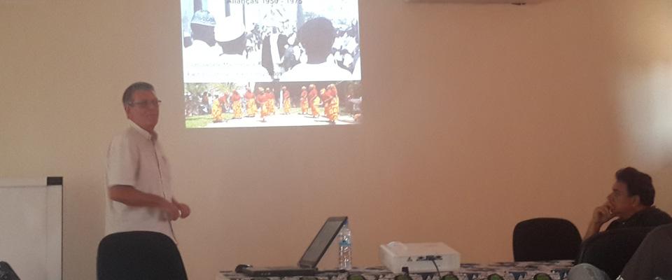 FAPF acolhe palestra sobre Ilha de Moçambique